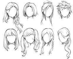 Modèles De Cheveux Dessinland Dessin Coiffure Cheveux