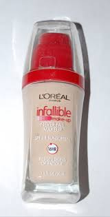 l oreal infallible never fail advanced liquid makeup color soft ivory 602 l 39 oreal infallible pro matte foundation review