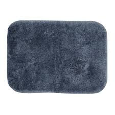 mohawk home spa 1 5 x 2 bath rug in slate mohawk bath rugs y3003566017024 the mohawk home bath rug collection pairs easily with today s home fashions