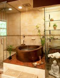 Bathroom: Small Modern Japanese Soaking Bathtub -