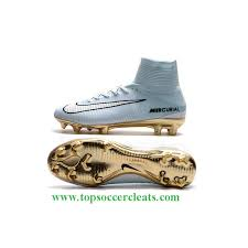 gold and white mercurials