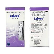 lubrex eye drops 10ml