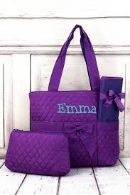 Purple Quilted Diaper Bag | Wholesale Accessory Market & NGIL Purple Quilted Diaper Bag Adamdwight.com