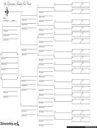 10 Generation Pedigree Chart Template 007 Template Ideas Large Free Family Frightening Tree