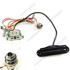 popular guitar wiring harness buy cheap guitar wiring harness lots electric guitar prewired wiring harness pickup volume tone 3 way switch jack