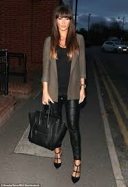 night out glam megan put her recent romance turmoil to one side dressing to