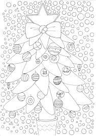 Kerst Kerstboom Kleurplaten Voor Volwassenen Colouring For