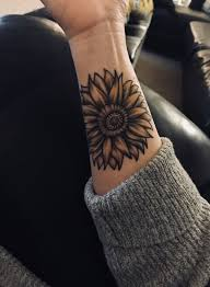 Tattoos Inspirational Wrist Tattoos Very Good Sunflower Tattoo