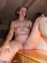 Nude mature home video