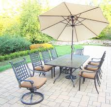 patio dining set includes 84 x 42 inch rectangular table quick view