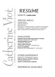 Gallery Of Catherine Viot Makeup Artist Makeup Artist Resume