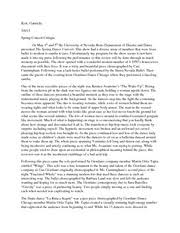 dance critique essay kott gabrielle  dance critique essay kott gabrielle