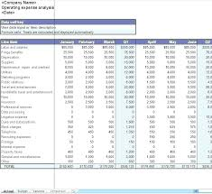 Expense Report Template Excel Free Operating Expenses Template Excel Expense Report Template