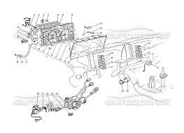 Maserati biturbo 2 5 1984 instrumentation and electrical