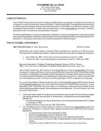 Professional Resume Formats Unique 48 Samples Of Professional Resume Formats You Can Use In Job Hunting