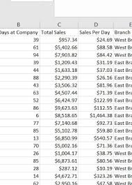 Sales Per Day Formula How To Use Paste Special In Excel Excel Nerds