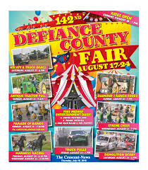 2019 Defiance County Fair Preview And Rules By The Crescent