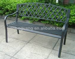 garden benches metal.  Benches Metal Garden Bench  Buy BenchPaito BenchBench Product On  Alibabacom Intended Benches A