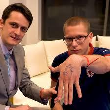 Fng нарисовал татуировку для Afoninje мидер доиграет с ней турнир