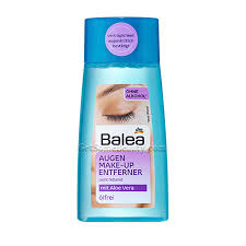 balea eye water soluble makeup remover oil free 100 ml