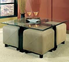 4 ottoman storage cube seating coaster