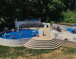above ground pool with deck and hot tub. PROMOTIONS Above Ground Pool With Deck And Hot Tub K