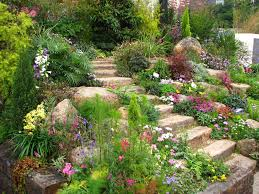 Outdoor Living:Best Small Garden Landscaping Idea With Decorative Rock  Garden Beautiful Backyard Garden With