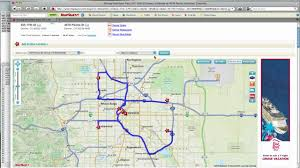 how to  mapquest route planner  youtube