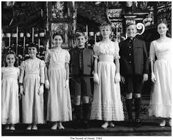 the sound of music 1965. Plain The The Sound Of Music 1965 Debbie Turner Marta Is 2nd From The Left With Of U