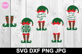 Elf leg clipart free download! Free Elf Legs And Monogram Svg File Christmas Svg Files Christmas Svg Files Free Svg