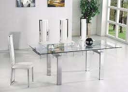 How To Glass Extendable Dining Table Boundless Table Ideas