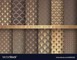 1000x780 art deco patterns art patterns set vector image art deco patterns to