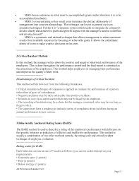 Job Performance Evaluation Form Page Appraisal Objectives Examples ...
