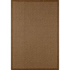 plymouth bayou brown 8 ft x 11 ft indoor outdoor area rug