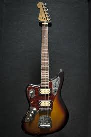17 best images about guitars surf fender custom fender kurt cobain signature jaguar sunburst left handed