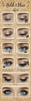 blue eye makeup tutorials