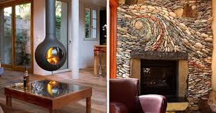 fireplace interior design. 20+ of the coolest fireplaces ever fireplace interior design d