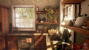 Cozy Kitchen Artstation Cozy Kitchen Breanne Millette Lightmood
