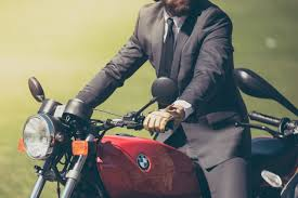 man on motorcycle foremost motorcycle insurance
