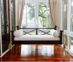 This Hilton Head Hanging Porch Swing Bed is a beauty!