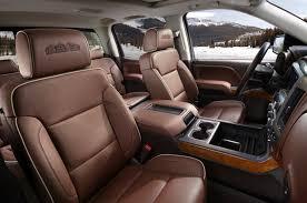 2016 chevrolet silverado high country leather seats
