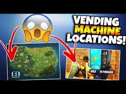 Vending Machine Finder Magnificent NEW VENDING MACHINE FORTNITE LOCATIONSSPOTS UPDATE FORTNITE