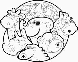 Zoo Animals Coloring Book With Animal Pictures For Kids Also