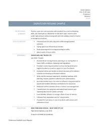 Ideas Collection astonishing Dispatcher Resume 7 Dispatcher Resume Samples  Tips and for Dispatcher Clerk Sample Resume