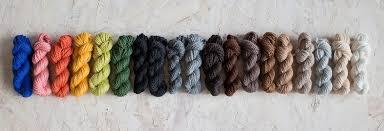 Yarn Colour Chart Edwards