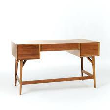 mid century desk chair. Mid Century Desk Acorn West Elm Chair Furniture Modern Upholstered Office White