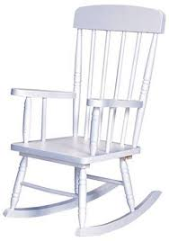 white rocking chair. Contemporary Chair With White Rocking Chair K