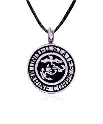 marine corps stainless steel cremation jewelry pendant necklace 23 jpg