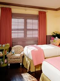 tea for two small splashes of storage and style girls bedroom with twin beds