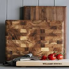williams sonoma rectangular cutting board with feet maple williams sonoma